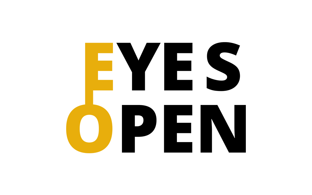 Eyes Open logo design