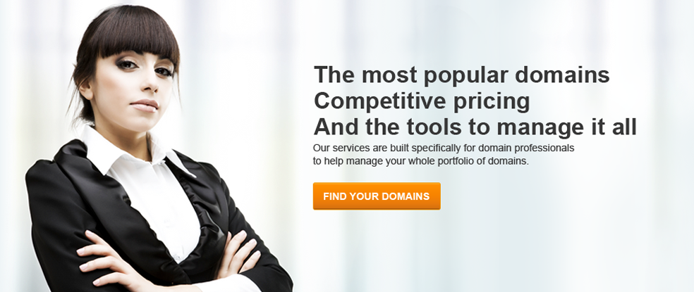 Competitive domain pricing.